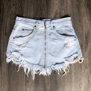 Carmar Jean skirt